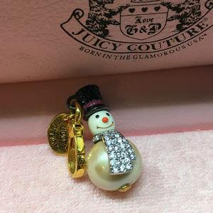 Juicy Couture Snowman Christmas Bracelet Charm 07